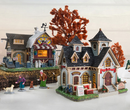 Lemax Harvest Crossing Village Collection