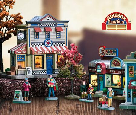 Lemax Jukebox Junction Village Collection