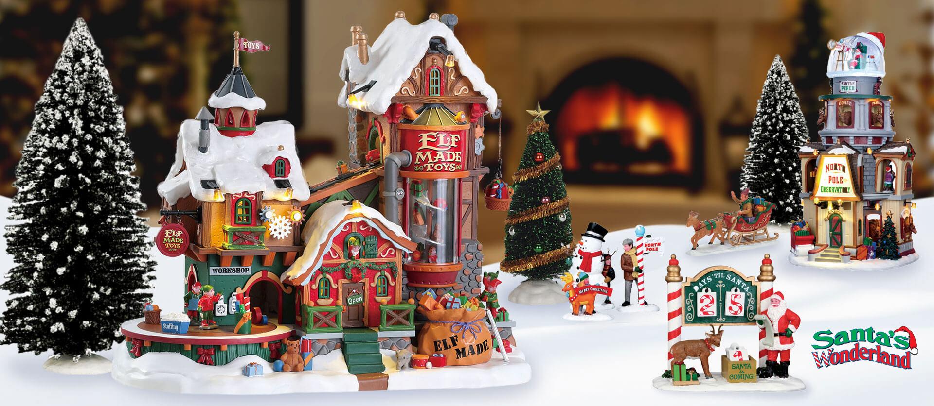 Lemax Santa's Wonderland Collection