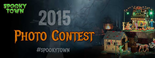 Lemax 2015 Halloween Photo Contest