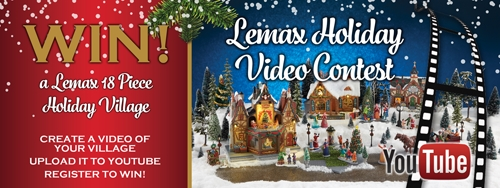 Lemax 2016 Holiday Video Contest