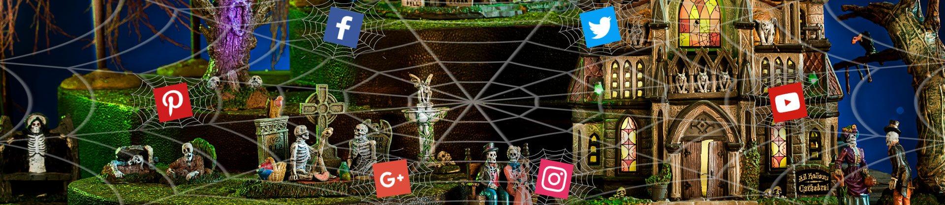 Lemax SpookyTown Social