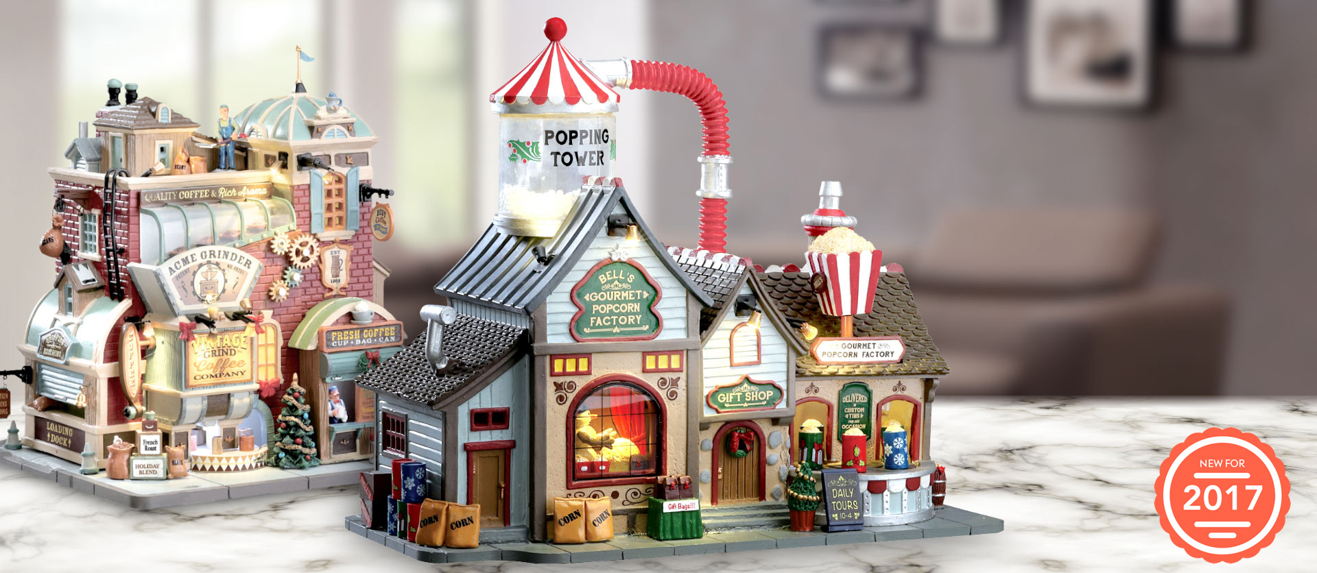 Lemax 2017 Holiday & Christmas Village Collection