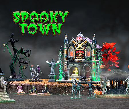 Lemax Spooky Town Collection