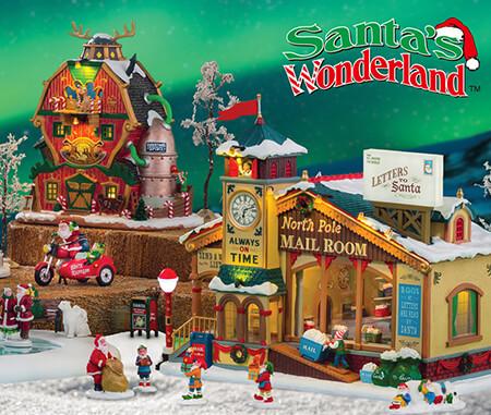 Lemax Santa's Wonderland Village