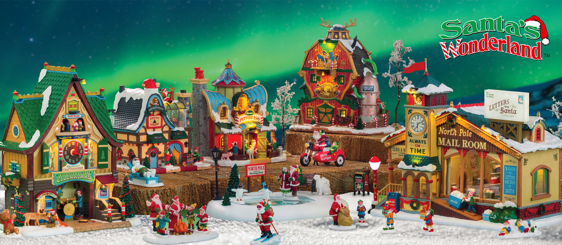 Lemax Santa's Wonderland Collection