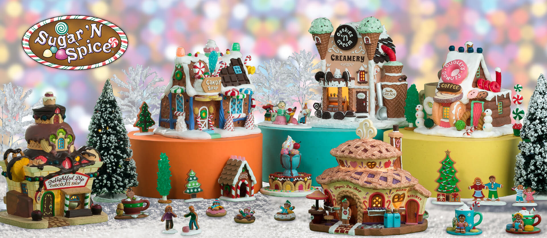 Lemax Sugar and Spice Collection