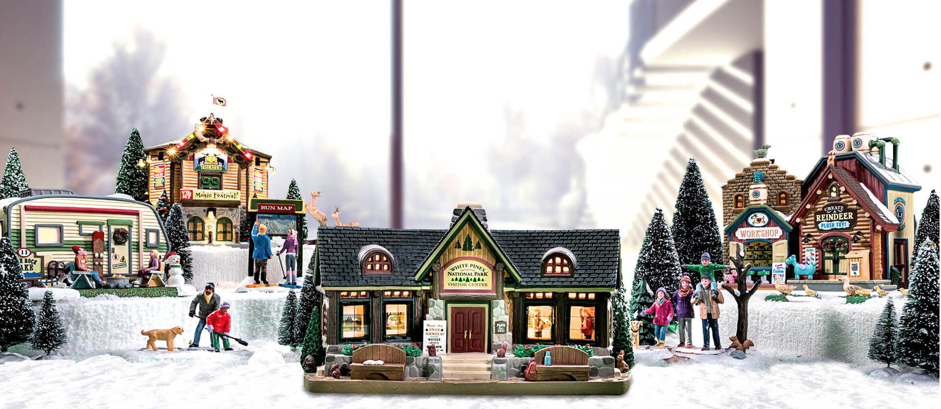 Lemax Vail Village Collection