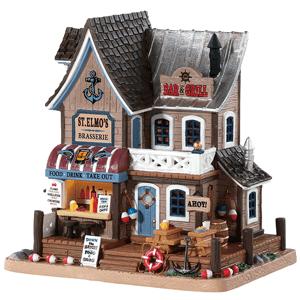 st elmos brasserie - Christmas Village Sets Michaels
