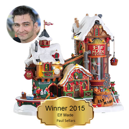Paul Sellars. Winner 2015 You Name It. We Create It.