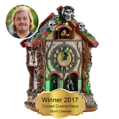 Mark Cheever. Winner 2017 You Name It. We Create It.