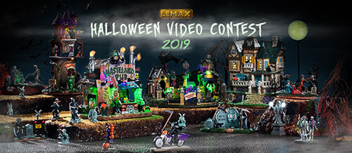 Lemax 2019 Halloween Video and Photo Contest.