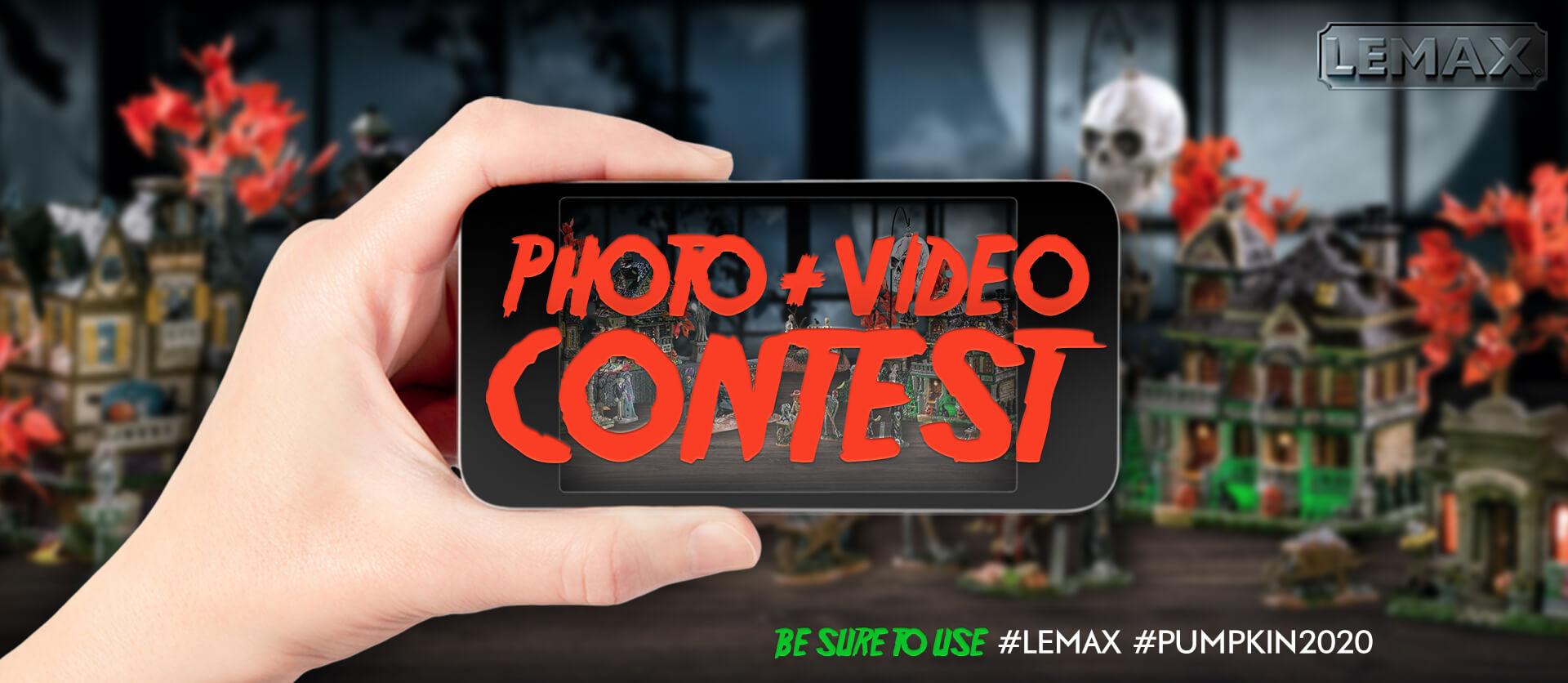 Lemax 2020 Halloween Video & Photo Contest