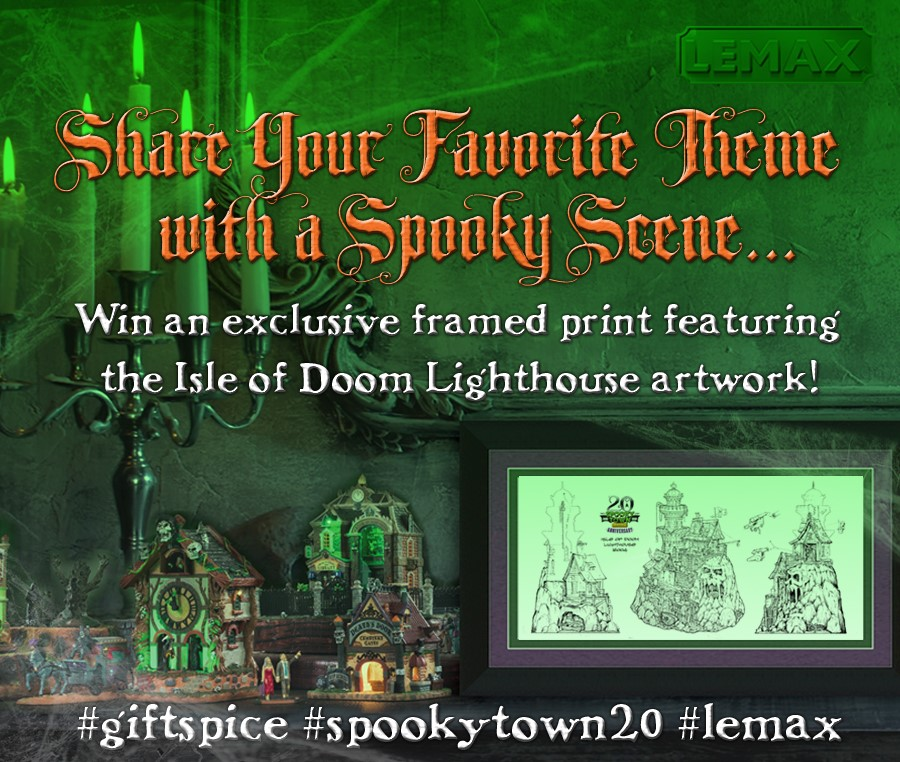 Lemax 2020 Halloween Theme Contest