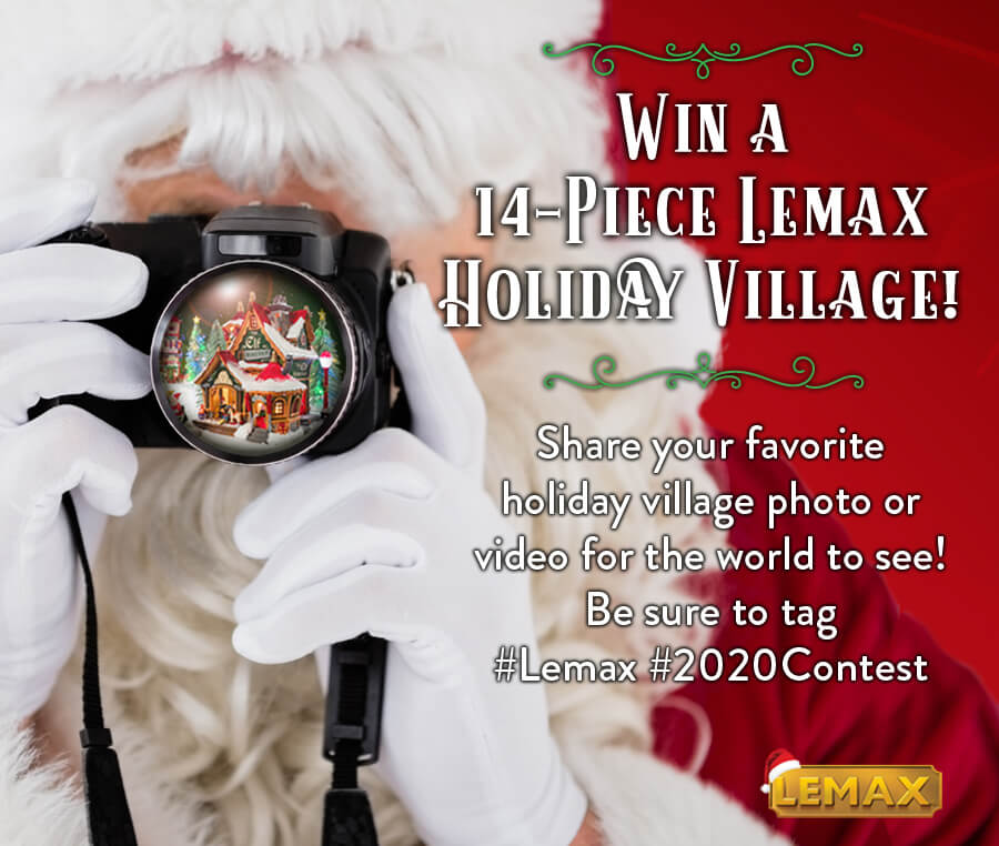 Lemax Holiday Contest 2020