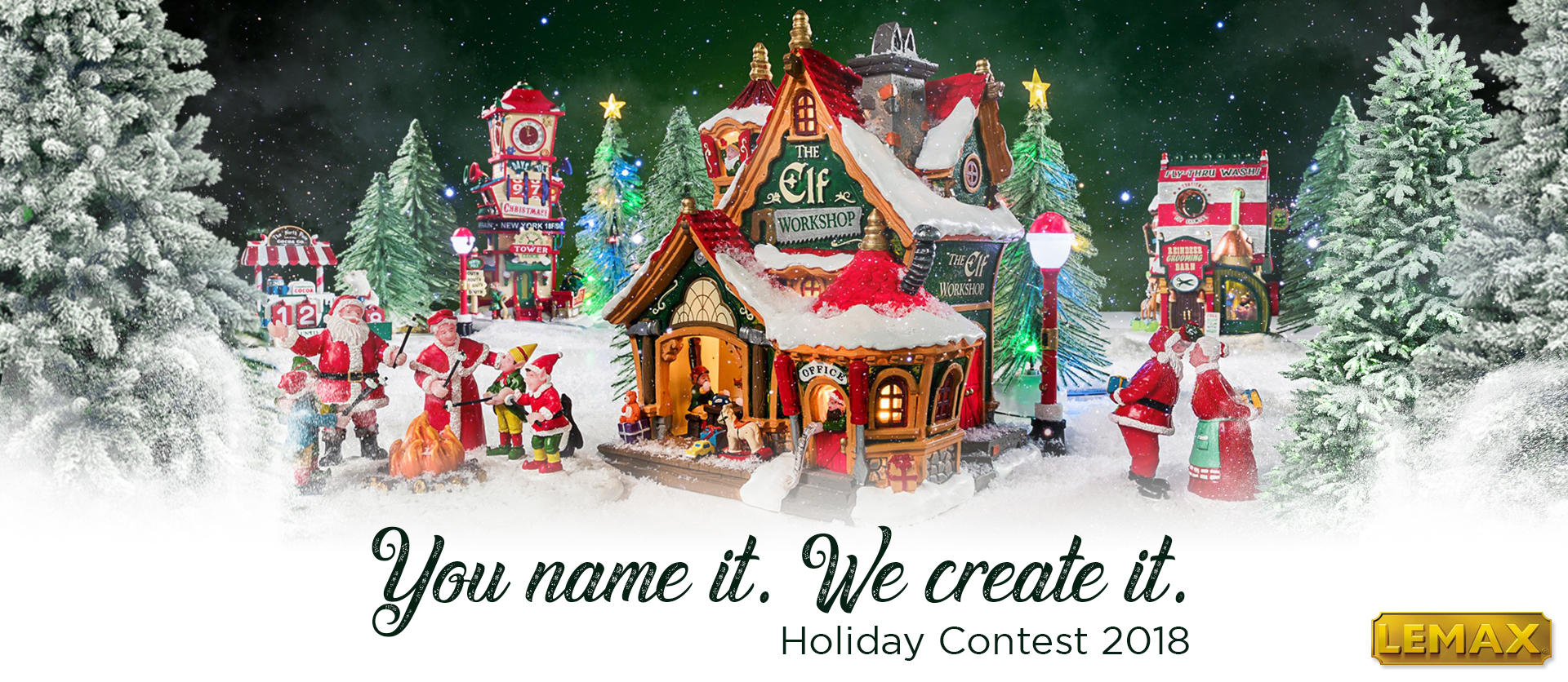 You Name It. We Create It. Contest Christmas 2018