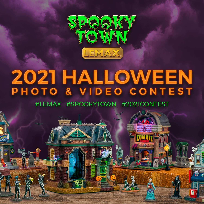 Lemax 2021 Halloween Video & Photo Contest