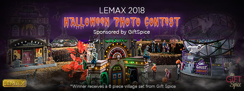 Lemax Spooky Town Photo Contest