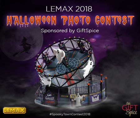 Lemax 2018 Spooky Town Photo Contest