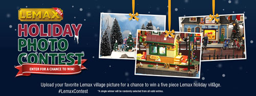 Lemax 2016 Holiday Photo Contest