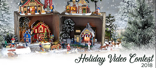 Lemax 2018 Holiday Video Contest.