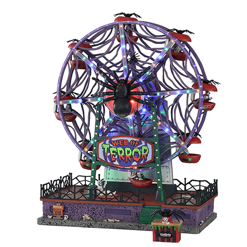 Web Of Terror Ferris Wheel