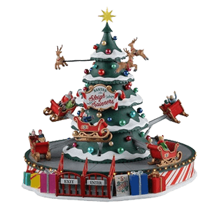 Santa's Sleigh Spinners