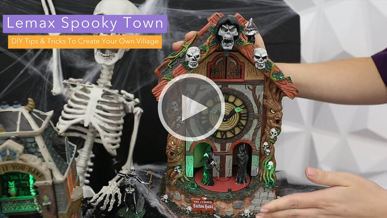 Lemax Spooky Town DIY Tips and Tricks